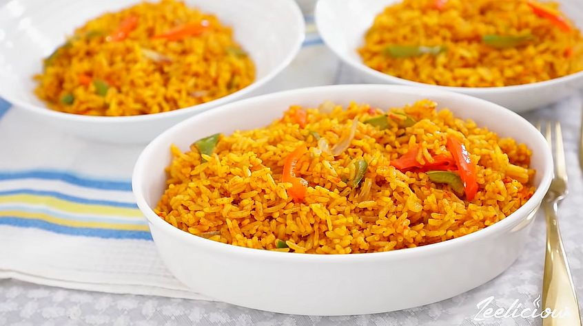 This Jollof Rice Recipe is Just What Your holiday Cooking Needs!